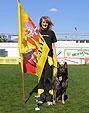 Yasmin Meier mit Estella vom Höllbachgrund bei der Deutschen Jugend und juniorenmeisterschaft 2008 in Memmingen *